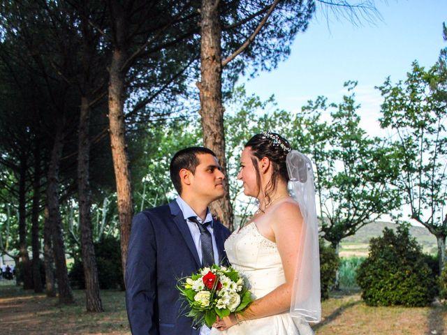 Le mariage de Alexandre et Marina à Nébian, Hérault 15