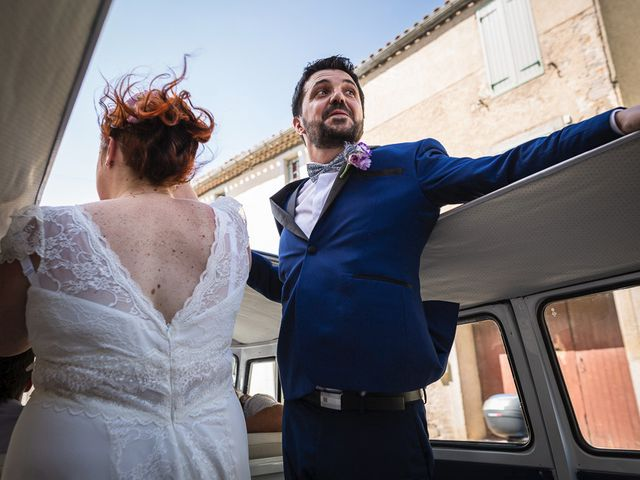 Le mariage de Xavier et Elodie à Ventenac-Cabardès, Aude 19