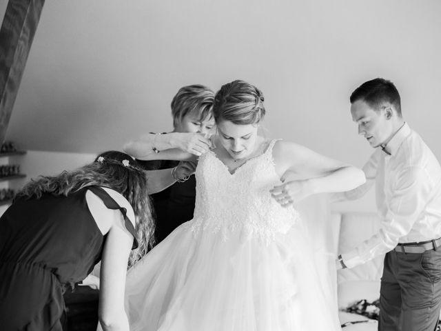 Le mariage de David et Morgane à Osthoffen, Bas Rhin 32