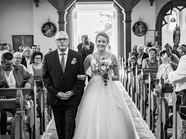 Le mariage de David et Morgane à Osthoffen, Bas Rhin 61