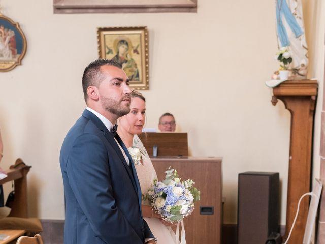 Le mariage de David et Morgane à Osthoffen, Bas Rhin 67