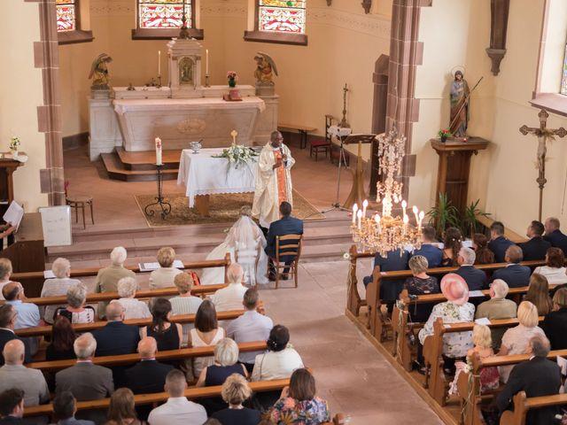 Le mariage de David et Morgane à Osthoffen, Bas Rhin 69