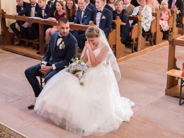 Le mariage de David et Morgane à Osthoffen, Bas Rhin 73