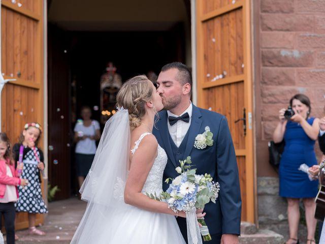 Le mariage de David et Morgane à Osthoffen, Bas Rhin 82