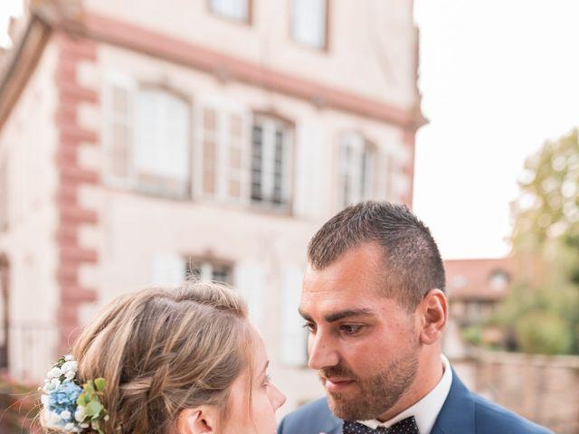 Le mariage de David et Morgane à Osthoffen, Bas Rhin 123