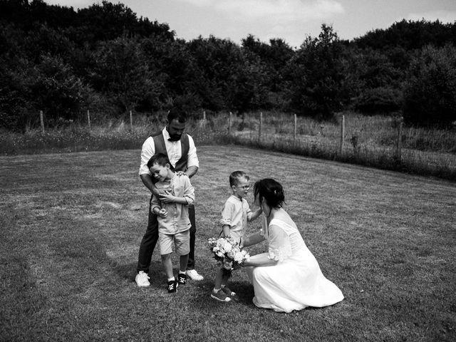 Le mariage de Cédric et Anne à Montoire-sur-le-Loir, Loir-et-Cher 78