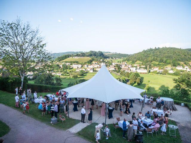 Le mariage de Clément et Aurélie à Aurillac, Cantal 34