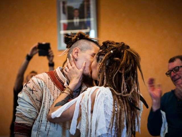 Le mariage de Jérémy et Orély à Cunlhat, Puy-de-Dôme 2