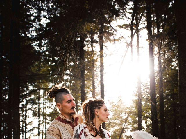 Le mariage de Jérémy et Orély à Cunlhat, Puy-de-Dôme 6