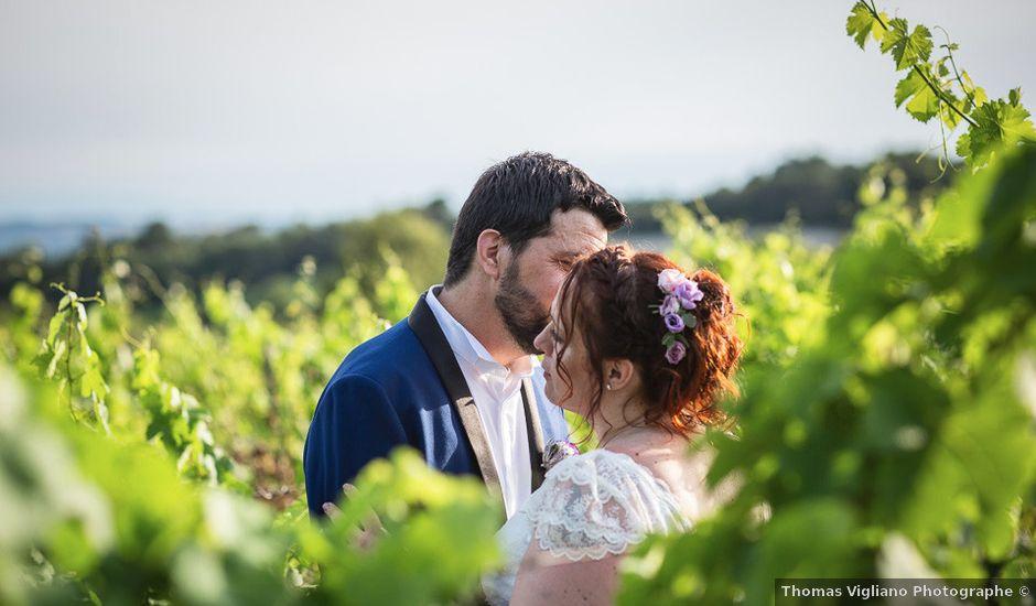 Le mariage de Xavier et Elodie à Ventenac-Cabardès, Aude