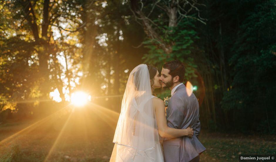 Le mariage de Damien et Elizabeth à Saint-Ambreuil, Saône et Loire