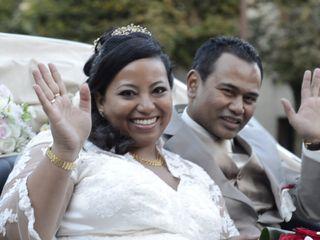 Le mariage de Yves et Holy