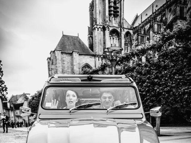 Le mariage de Christophe et Christelle à Bourges, Cher 58
