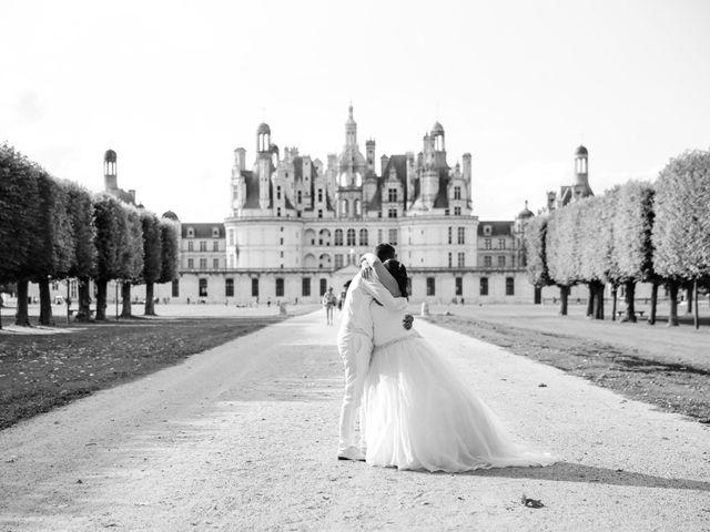 Le mariage de Esin et Jessy à Vendôme, Loir-et-Cher 77
