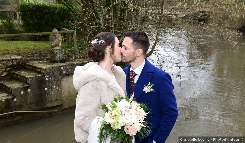 Le mariage de Nicolas et Camille à Chérisy, Eure-et-Loir