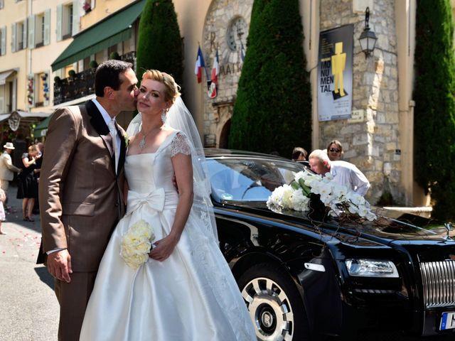 Le mariage de David et Elena à Mougins, Alpes-Maritimes 9
