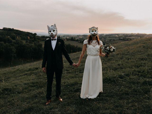 Le mariage de Sixtine et Pierre à Bourg-de-Thizy, Rhône 115