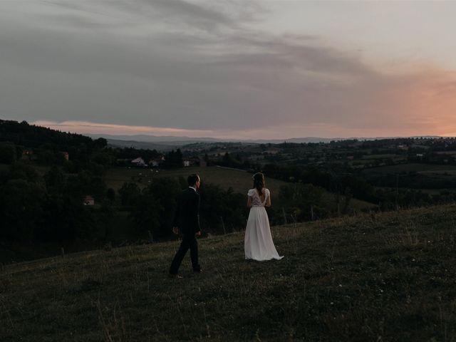 Le mariage de Sixtine et Pierre à Bourg-de-Thizy, Rhône 127
