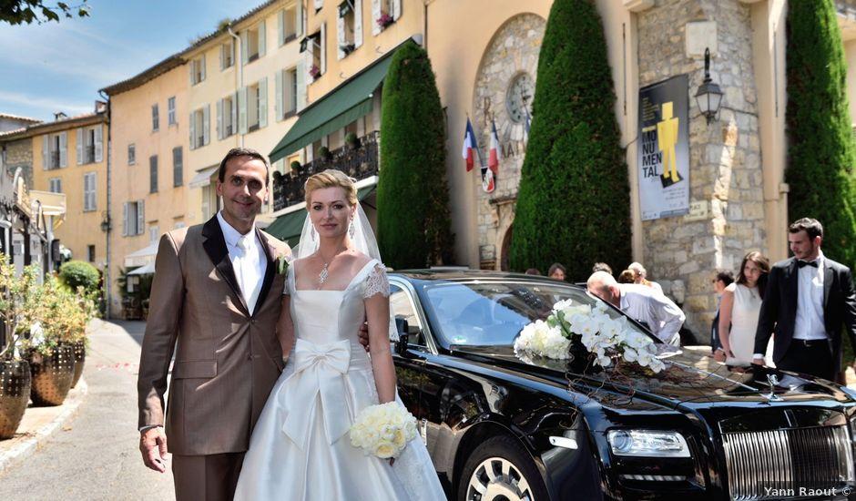 Le mariage de David et Elena à Mougins, Alpes-Maritimes