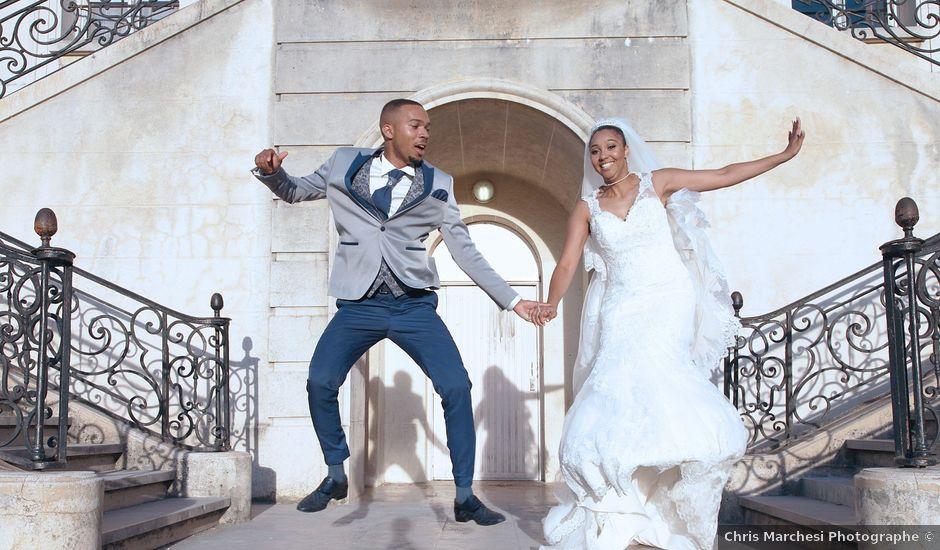 Le mariage de Zacharie et Ketsia à Savigny-le-Temple, Seine-et-Marne