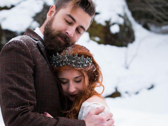 Le mariage de Yannick et Alice à Ax-les-Thermes, Ariège 40