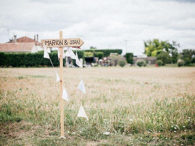 Le mariage de Stan et Marion à Verteuil-sur-Charente, Charente 1
