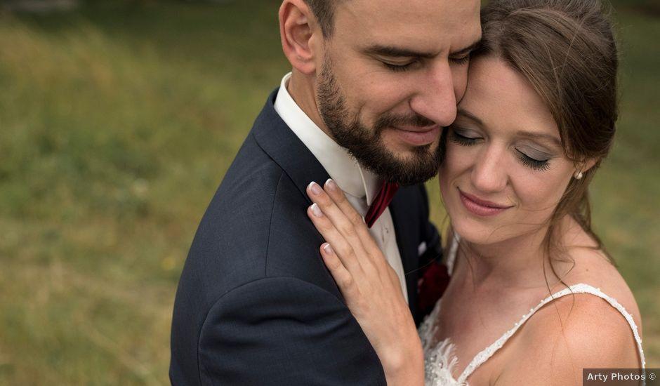 Le mariage de Antoine et Regina à Saint-Sandoux, Puy-de-Dôme