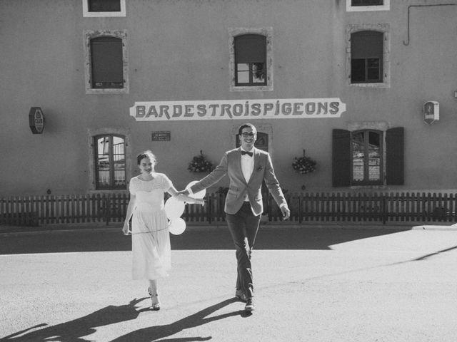 Le mariage de Jean-Baptiste et Marie-Marthe à Génelard, Saône et Loire 53