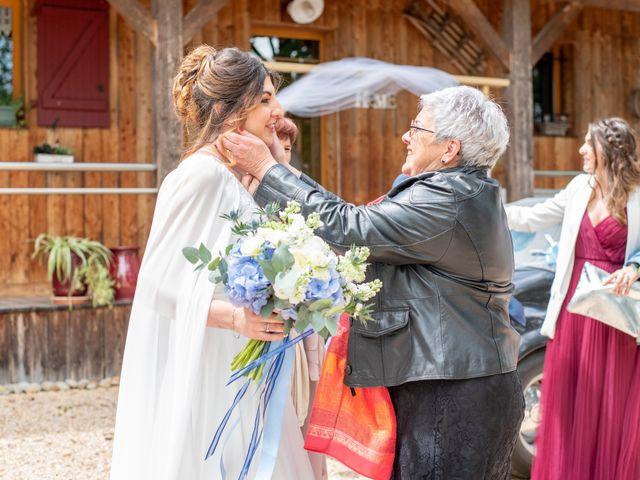 Le mariage de Gaëtan et Marie à Lissac-sur-Couze, Corrèze 17
