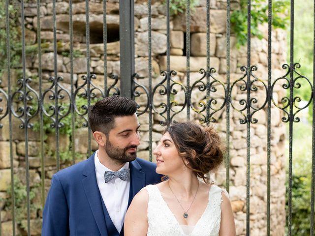 Le mariage de Gaëtan et Marie à Lissac-sur-Couze, Corrèze 23