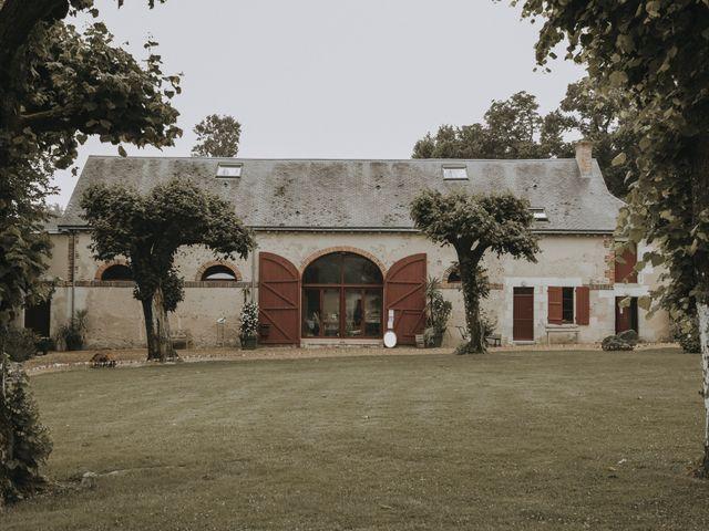 Le mariage de François et Annabelle à Braye sur Maulne, Indre-et-Loire 1
