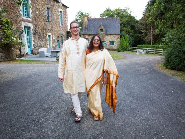 Le mariage de Clément et Mohini à Riaillé, Loire Atlantique 8