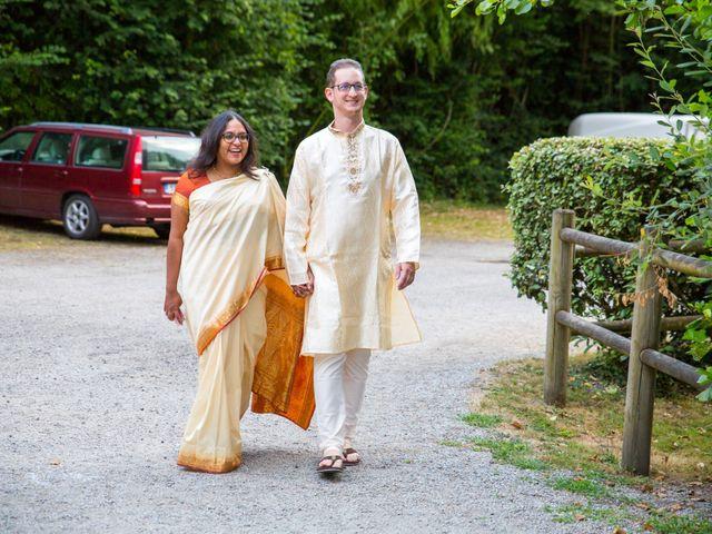 Le mariage de Clément et Mohini à Riaillé, Loire Atlantique 9