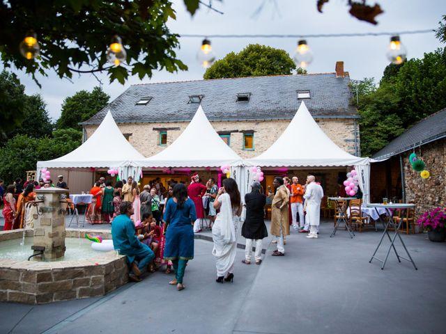 Le mariage de Clément et Mohini à Riaillé, Loire Atlantique 15