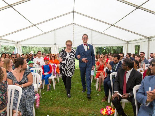 Le mariage de Clément et Mohini à Riaillé, Loire Atlantique 39