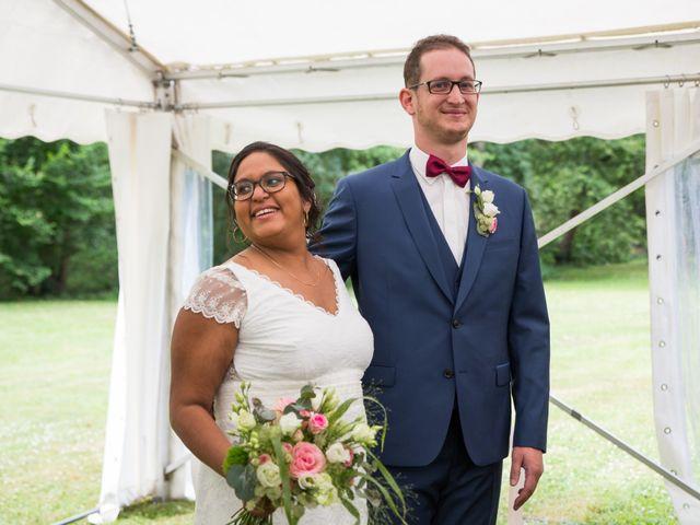 Le mariage de Clément et Mohini à Riaillé, Loire Atlantique 42