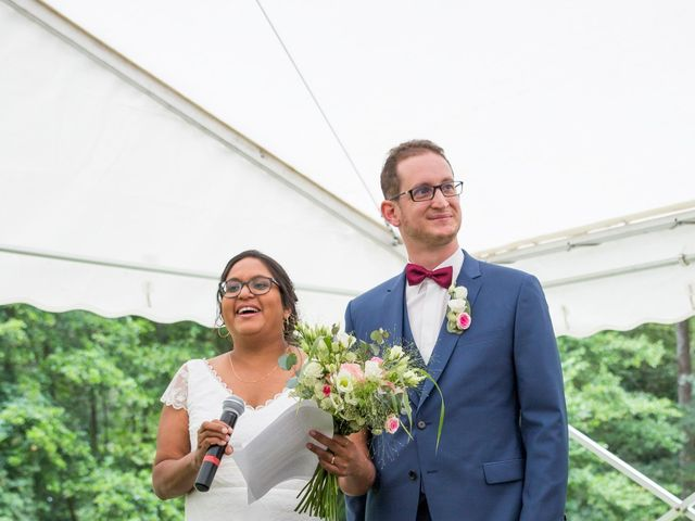 Le mariage de Clément et Mohini à Riaillé, Loire Atlantique 43