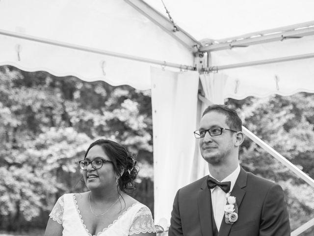 Le mariage de Clément et Mohini à Riaillé, Loire Atlantique 46