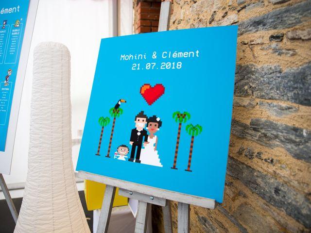 Le mariage de Clément et Mohini à Riaillé, Loire Atlantique 60