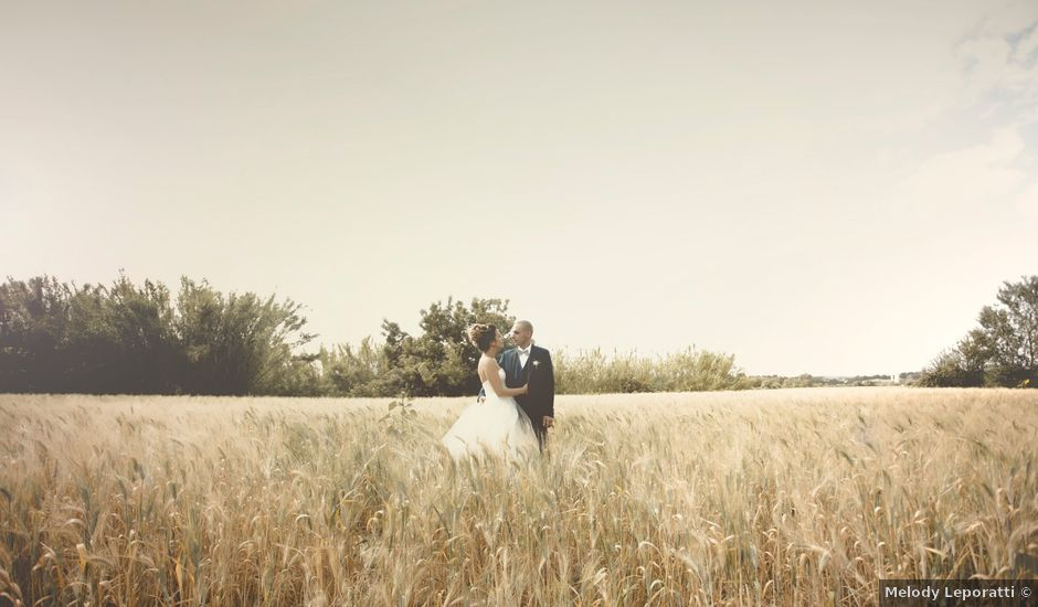 Le mariage de Cedric et Amandine à Rodilhan, Gard