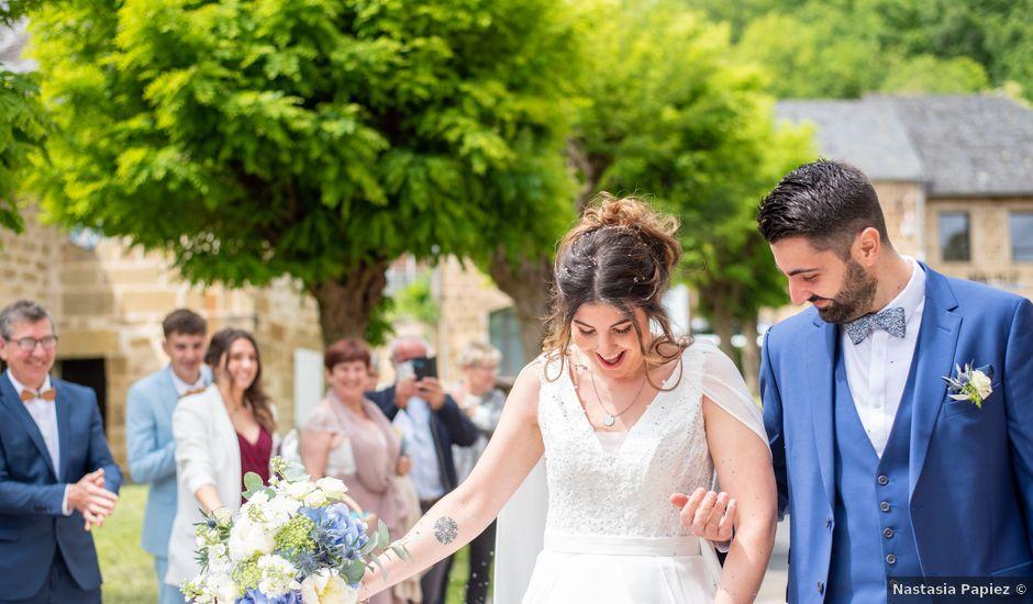 Le mariage de Gaëtan et Marie à Lissac-sur-Couze, Corrèze