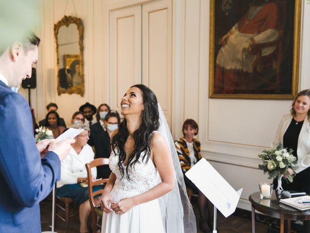 Le mariage de Shaun et Joy à Saint-Aubin-du-Perron, Manche 16