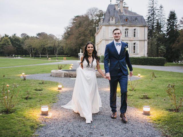 Le mariage de Shaun et Joy à Saint-Aubin-du-Perron, Manche 55