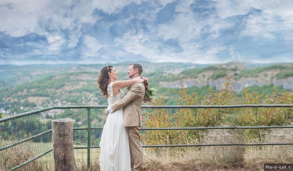 Le mariage de Eoin et Perrine à Cajarc, Lot