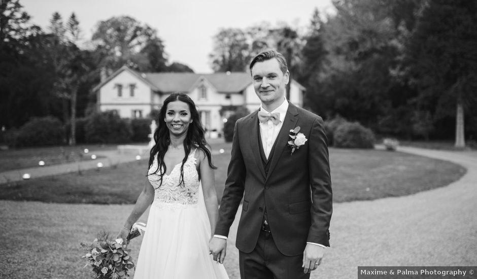 Le mariage de Shaun et Joy à Saint-Aubin-du-Perron, Manche