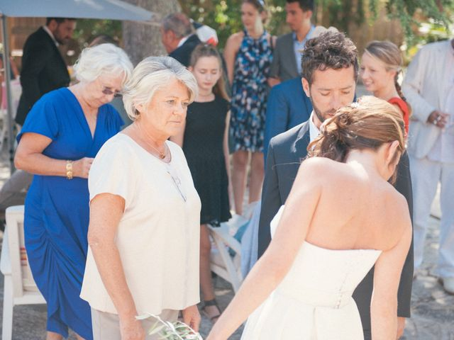 Le mariage de Martial et Margaux à Bandol, Var 16