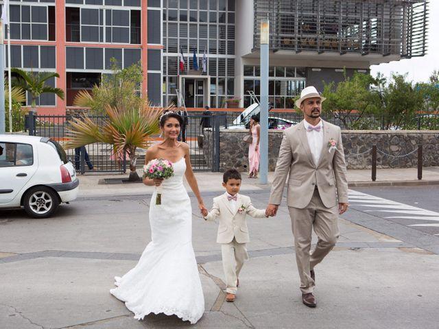 Le mariage de Vincent et Audrey à L'Étang-Salé, La Réunion 32