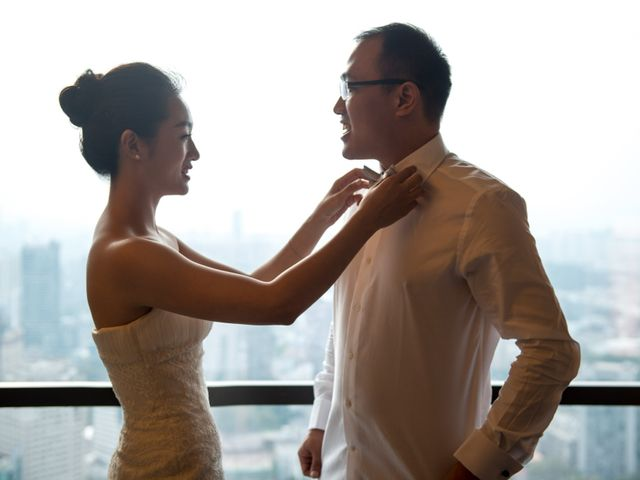 Le mariage de Carol et Luo