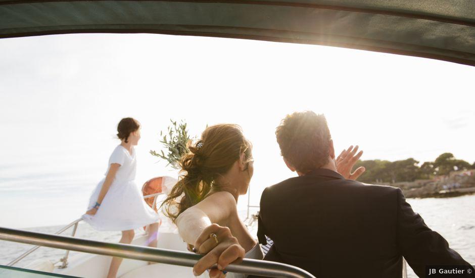 Le mariage de Martial et Margaux à Bandol, Var