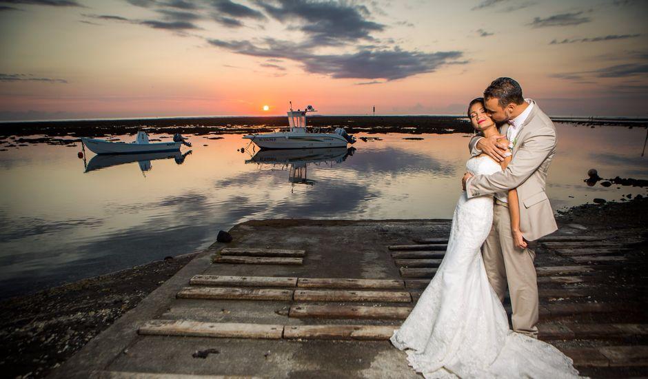 Le mariage de Vincent et Audrey à L'Étang-Salé, La Réunion